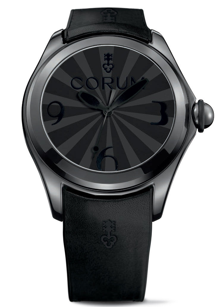 Corum Watch Bubble Superluminova Mens Black Limited Edition