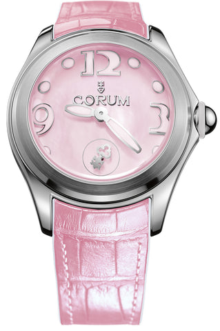 Corum Watch Bubble Mother of Pearl Ladies Pink