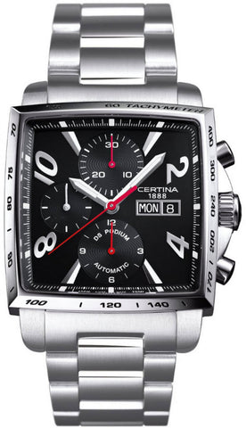 Certina Watch DS Podium Square Chrono Automatic A