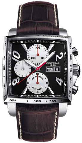 Certina Watch DS Podium Square Chrono Automatic