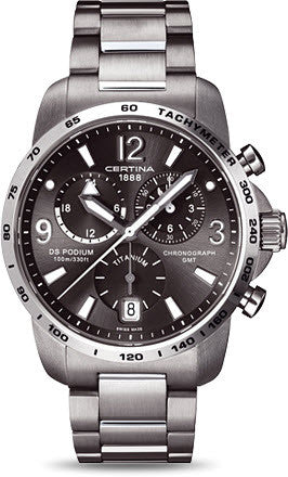 Certina Watch DS Podium Big Size Chrono GMT Quartz