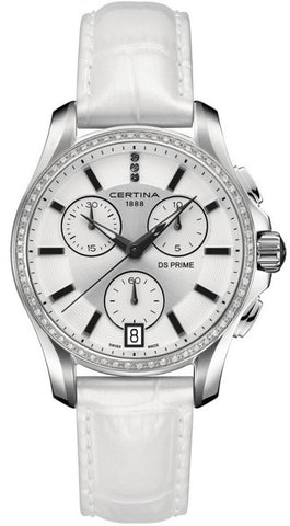 Certina Watch DS Prime Lady Round Chrono Quartz