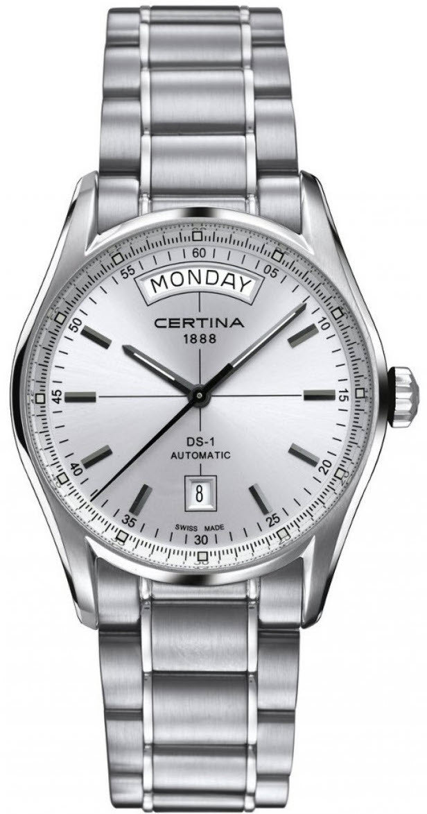 certina watch ds-1 day date automatic