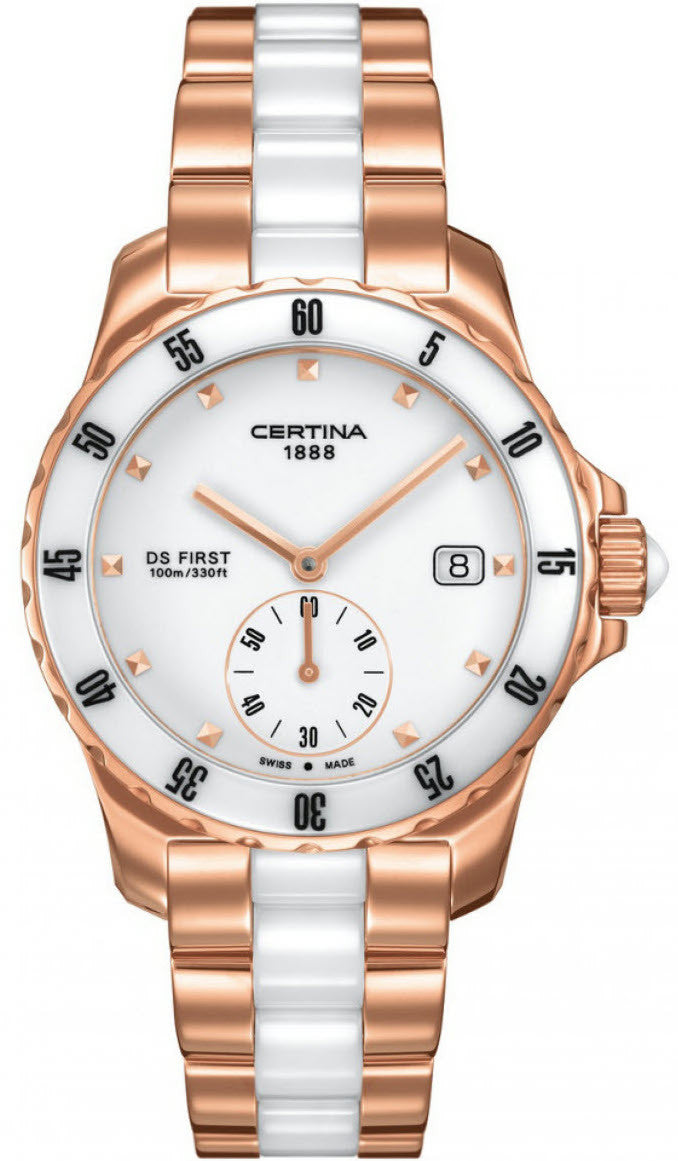 Certina Watch DS First Lady Ceramic Quartz