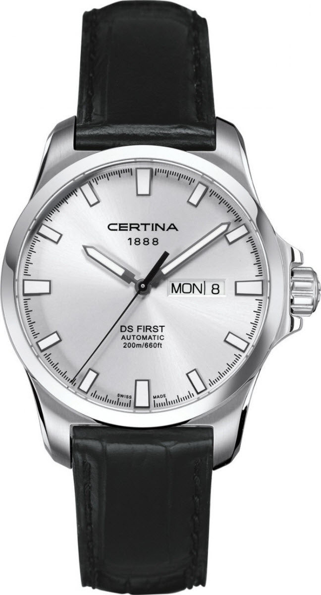 Certina Watch DS First Day Date Automatic
