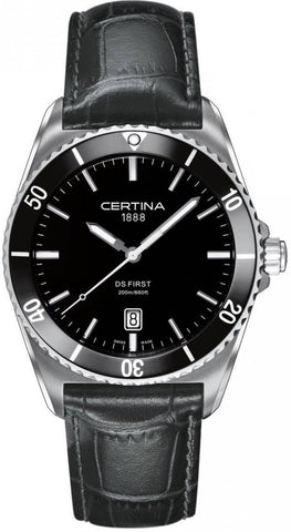 Certina Watch DS First Gent Ceramic Quartz