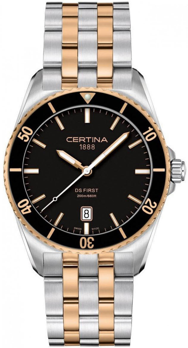 Certina Watch DS First Gent Ceramic Quartz D