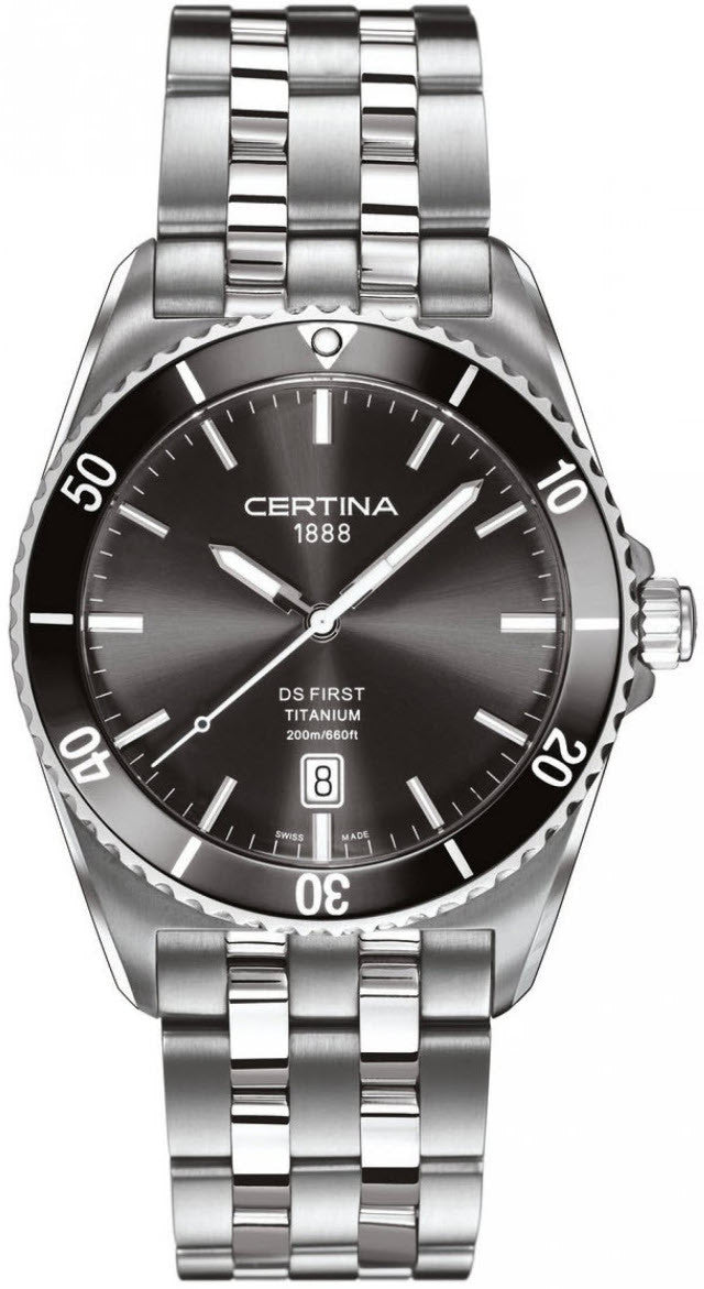 Certina Watch DS First Gent Ceramic Quartz A