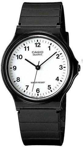Casio Watch Quartz Black White D
