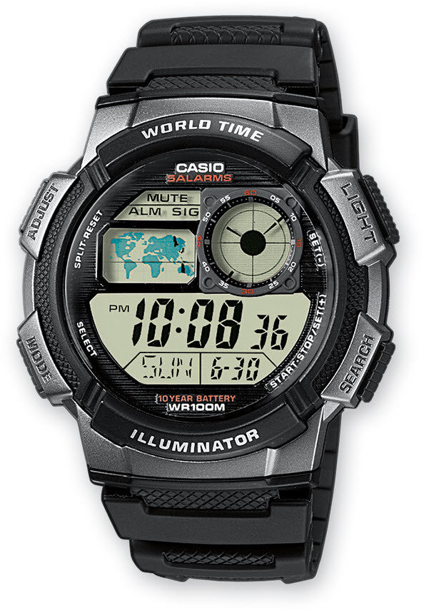 Casio Watch Alarm Chronograph D