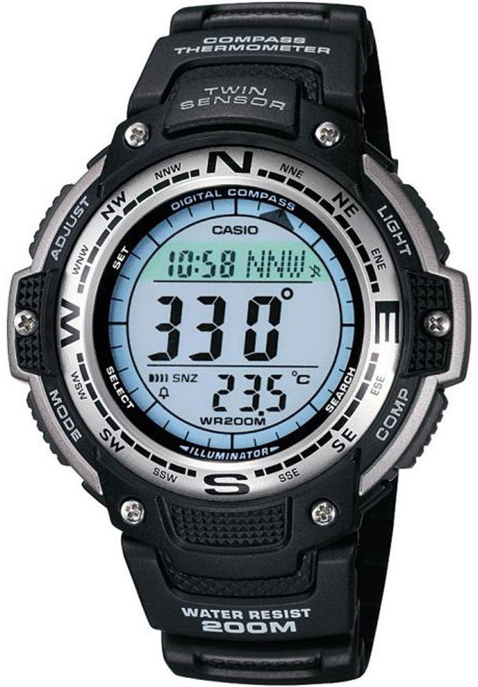 Casio Watch Pro Trek Alarm Chronograph