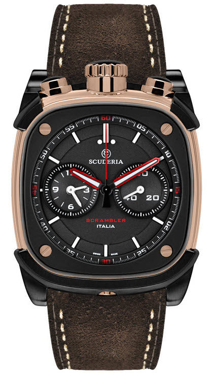 CT Scuderia Watch Scrambler Rocket Chronograph