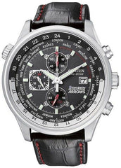 Citizen Watch Eco Drive Red Arrows World Time Chronograph