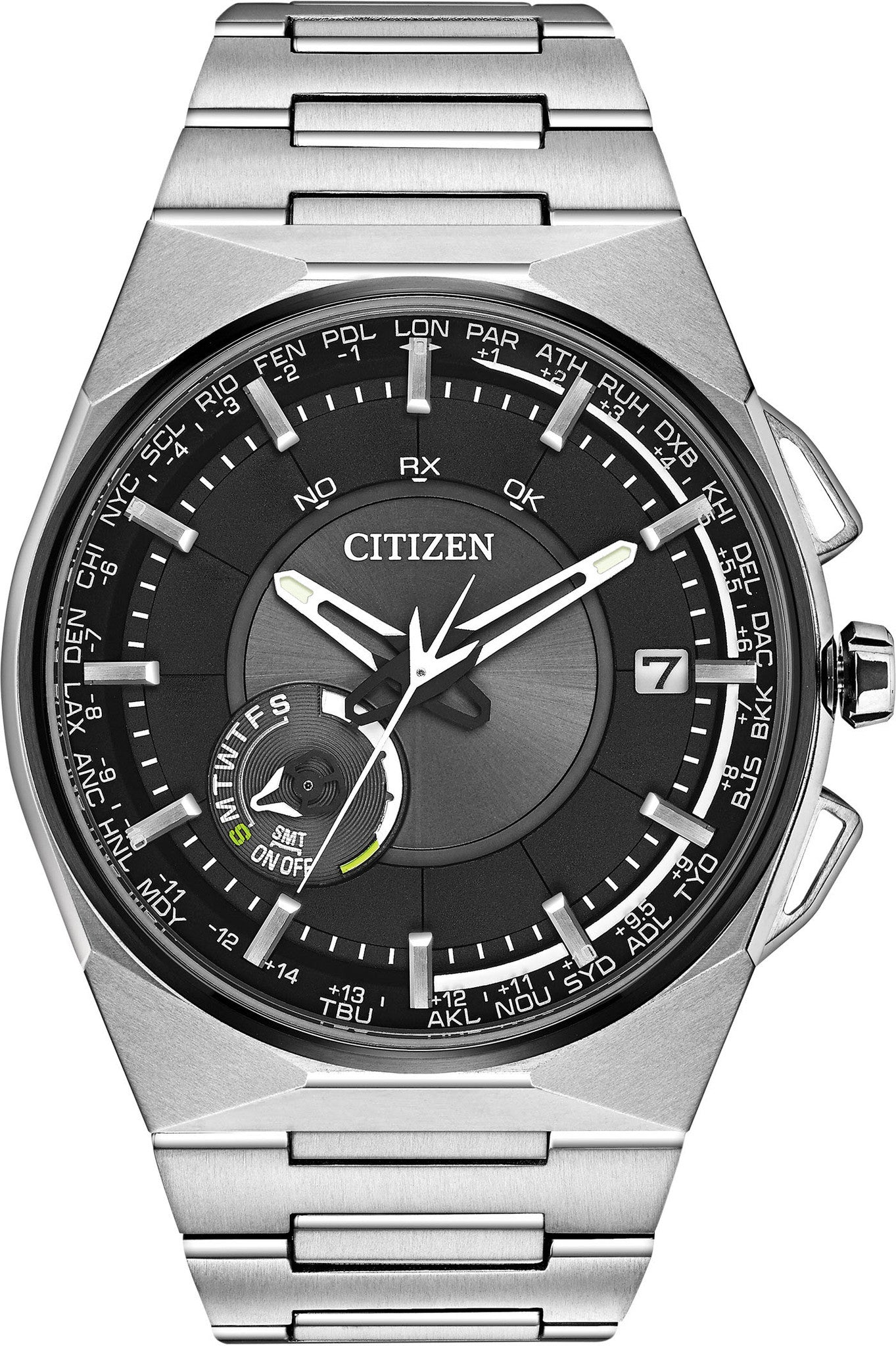 Citizen Watch Eco Drive Satellite Wave F100