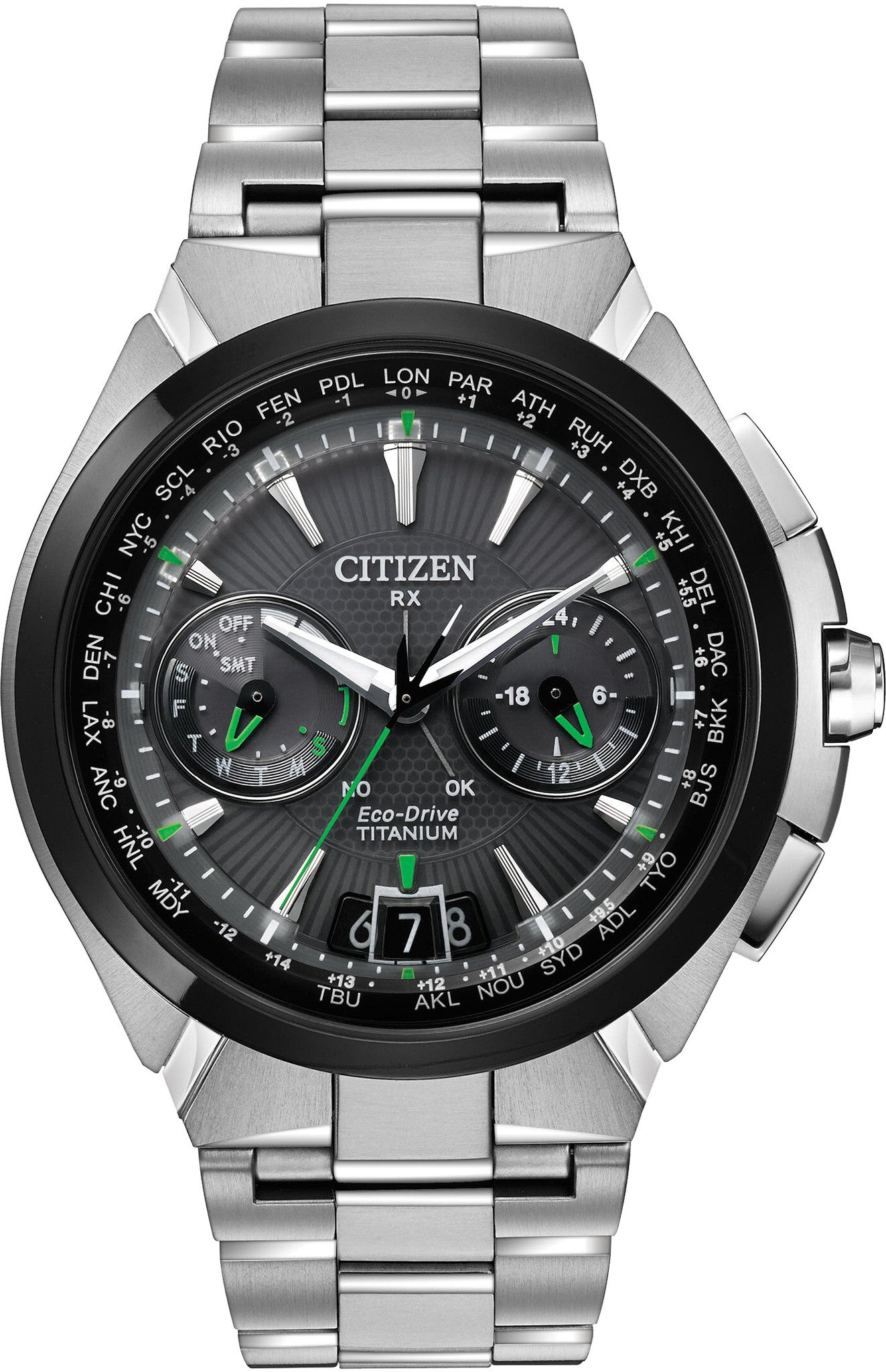 Citizen Watch Eco Drive Satellite Wave