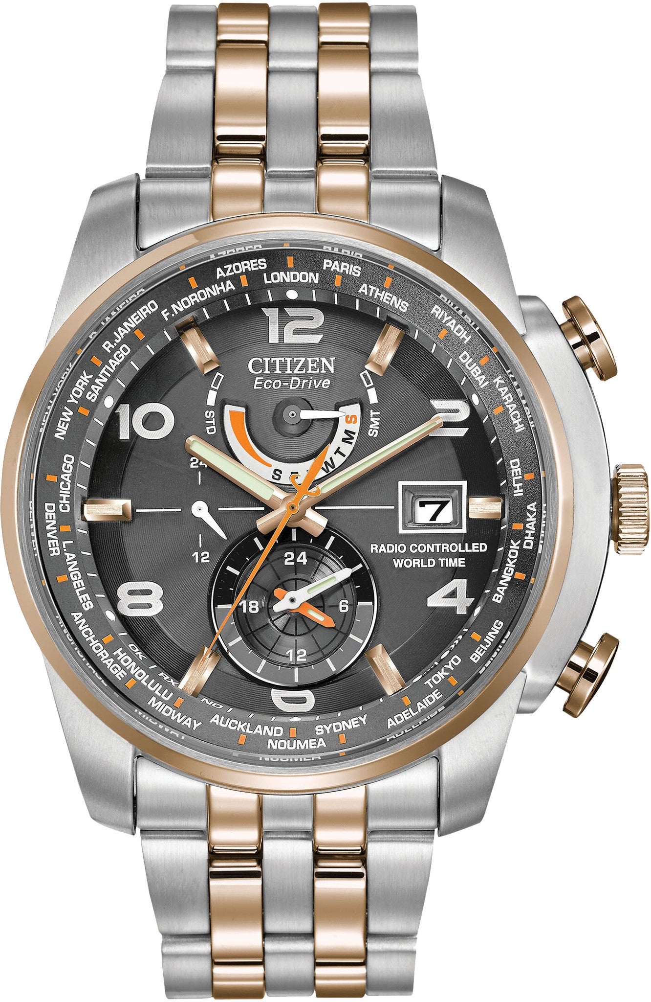 Citizen Watch Eco Drive World Time A-T