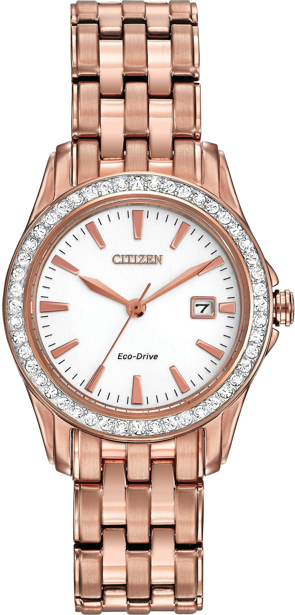 Citizen Watch Eco Drive Ladies Silhouette Crystal