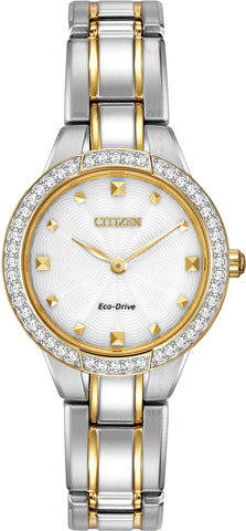 Citizen Watch Eco Drive Ladies Silhouette Crystal D