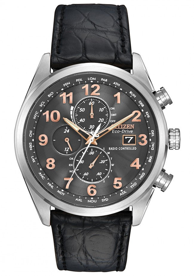 Citizen Watch Eco Drive World Chrono A T Limited Edition