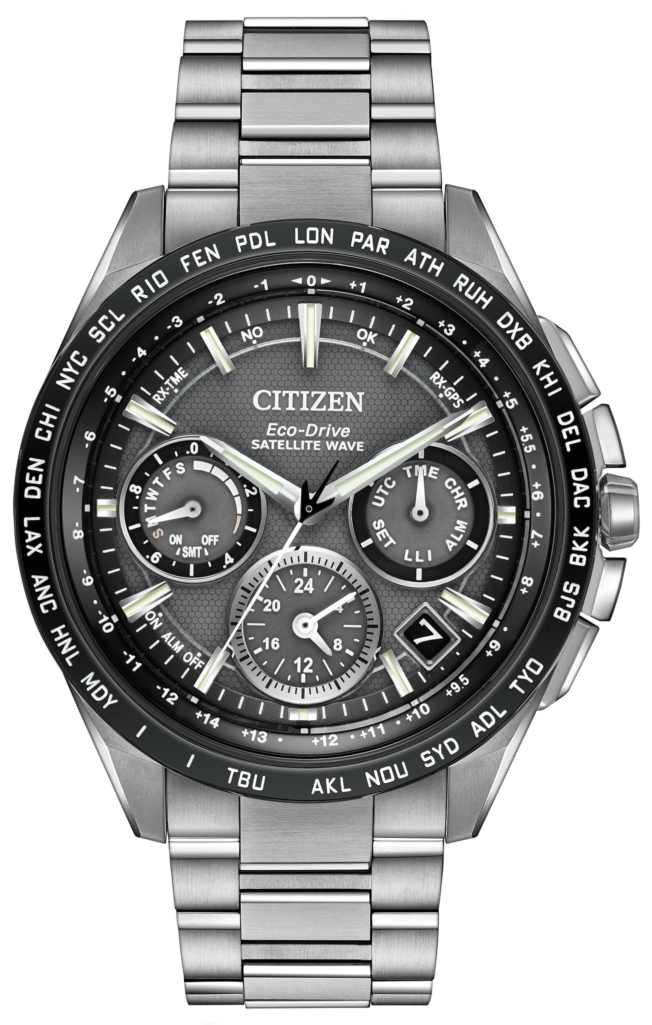 Citizen Watch Eco Drive Satellite Wave F900