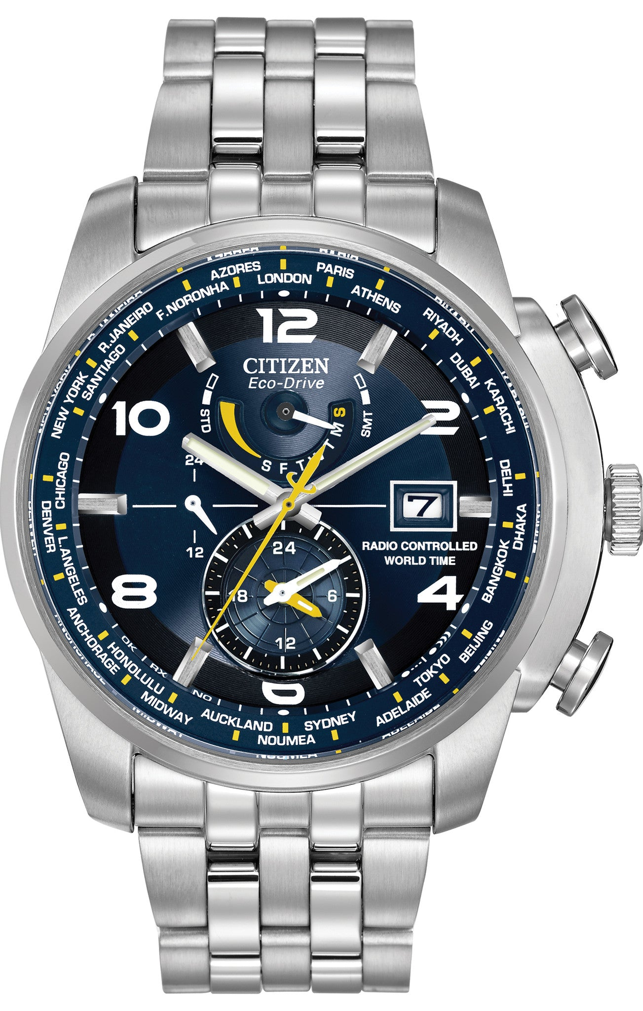 Citizen Watch Eco Drive World Time A.T WR200