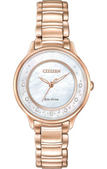 Citizen Watch Eco Drive 7 Diamonds WR50 DC Ladies