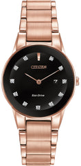 Citizen Watch Eco Drive Axiom Diamond Dial Ladies