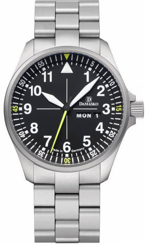Damasko Watch DA 363 Steel