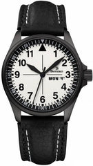 Damasko Watch DA 373 Black PVD Leather Pin