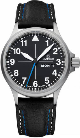 Damasko Watch DA 38 Leather Pin