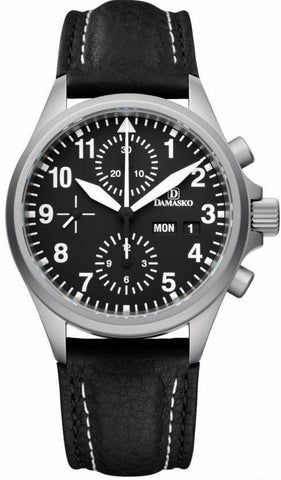 Damasko Watch DC 56 Leather Pin