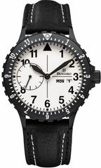 Damasko Watch DK 15 Black PVD Leather Pin