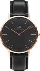 Daniel Wellington Watch Classic Black Sheffield 40mm