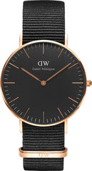 Daniel Wellington Watch Classic Black Cornwall 36mm