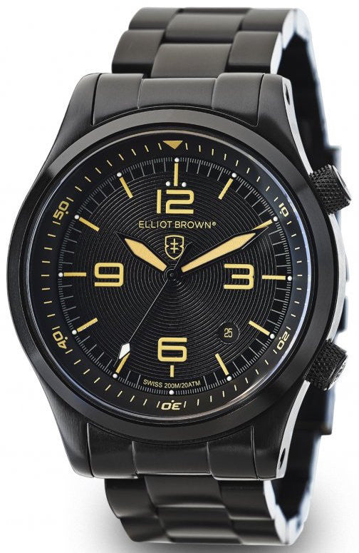 Elliot Brown Watch Canford Quartz D