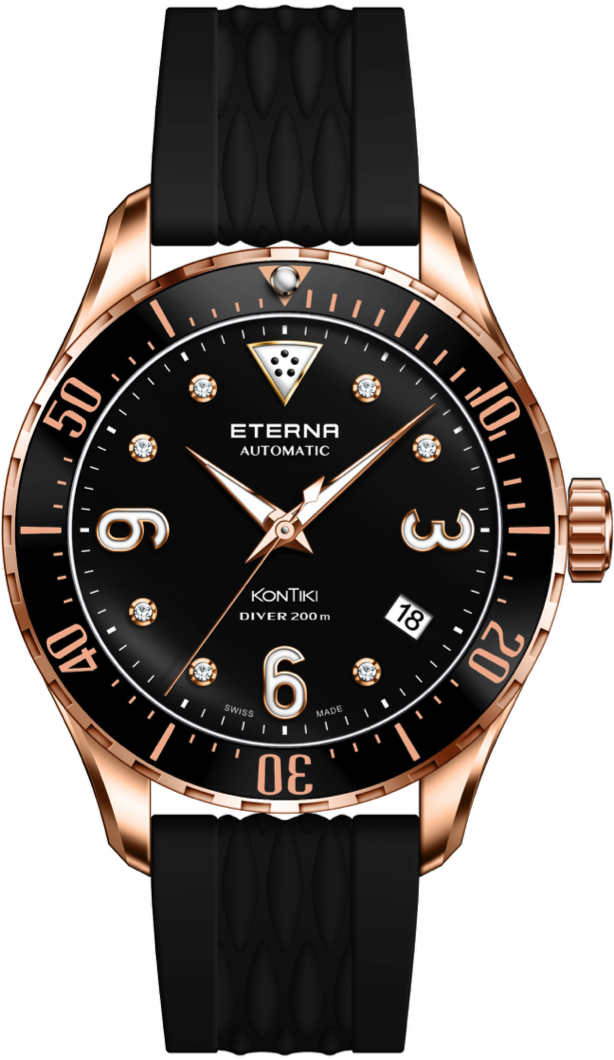 Eterna Watch Lady Kontiki Diver