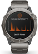 Garmin Watch Fenix 6X Pro Solar Titanium With Titanium Band