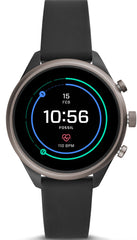 Fossil Watch Sport Smartwatch Black Silicone
