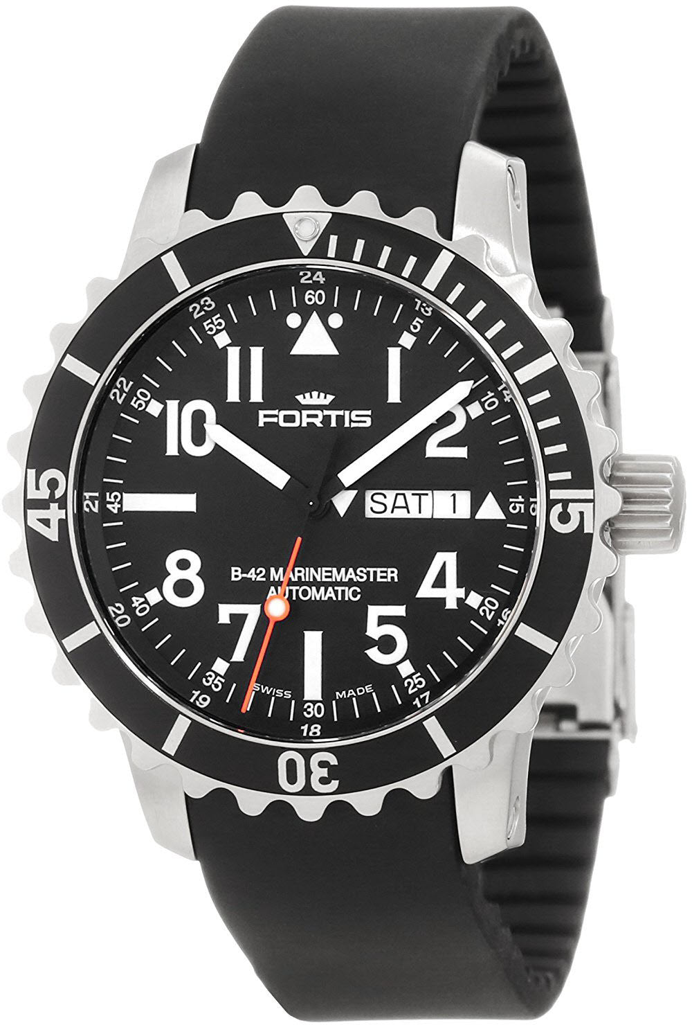 Fortis B-42 Marinemaster Day Date D
