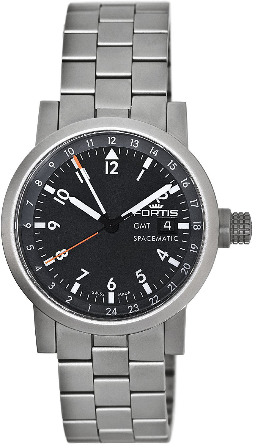 Fortis Spacematic Day/Date GMT D