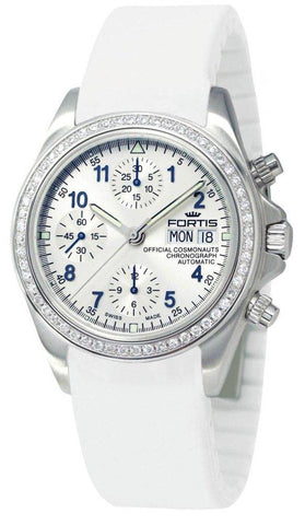 Fortis Official Cosmonauts Chronograph Diamond D