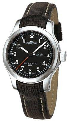 Fortis B-42 Pilot Professional Day Date D