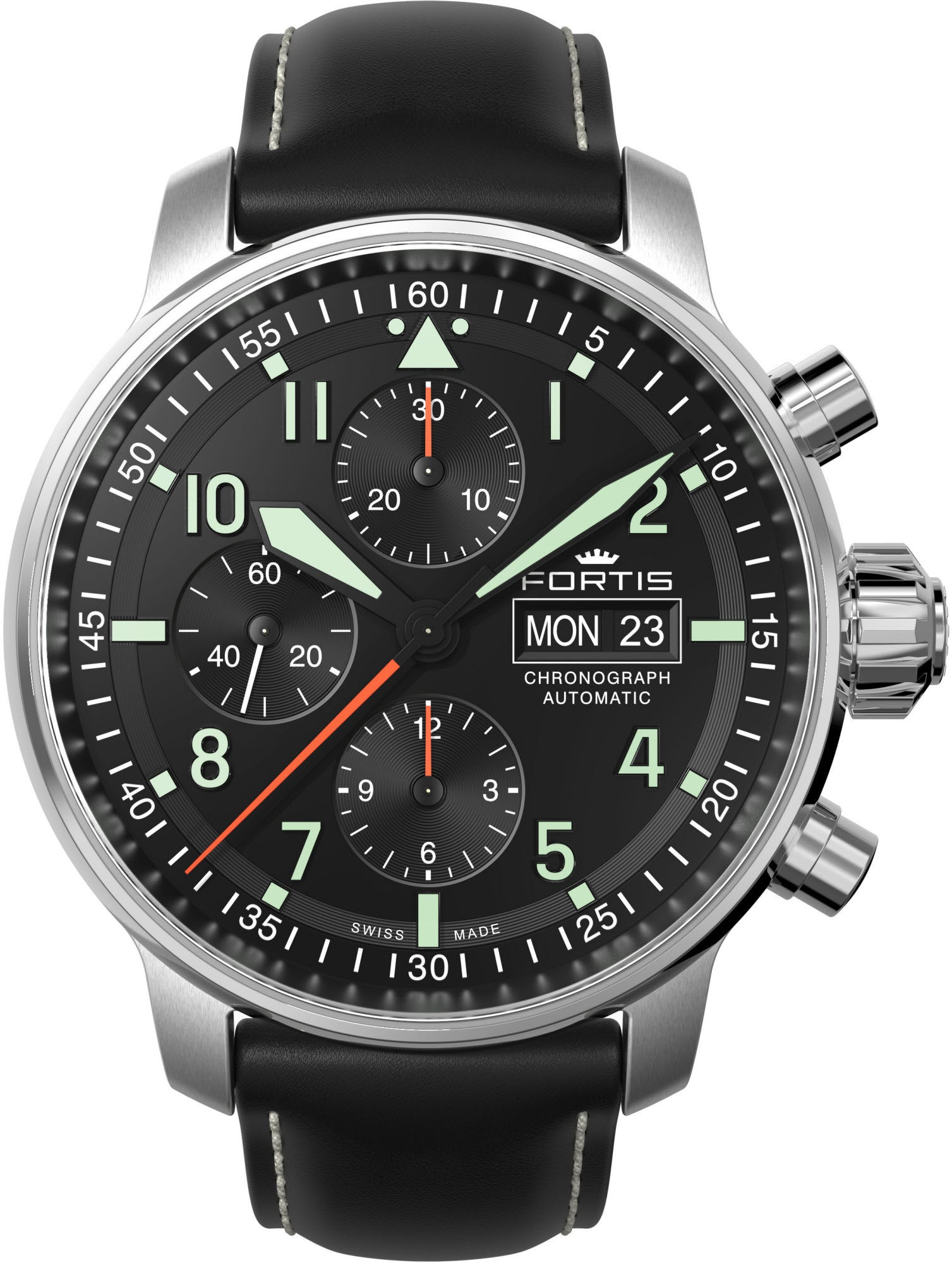 Fortis Watch Aviatis Flieger Professional Chronograph