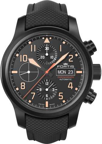 Fortis Watch Aviatis Aeromaster Stealth Chronograph