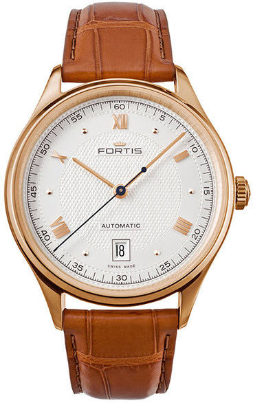 Fortis Watch Terrestis 19 Fortis A M Gold