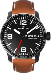 Fortis Watch Cosmonautis Spacematic Stealth