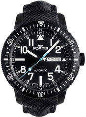Fortis Watch Aquatis Diver Black