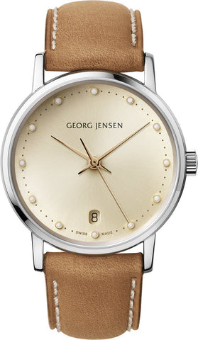 Georg Jensen Watch Koppel 431 3 Hands