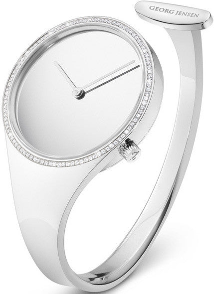 Georg Jensen Watch Vivianna Mirror Dial Medium