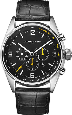 Georg Jensen Watch Delta Classic Chronograph Limited Edition
